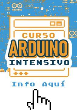 Anuncio menú curso Arduino Básico Intensivo
